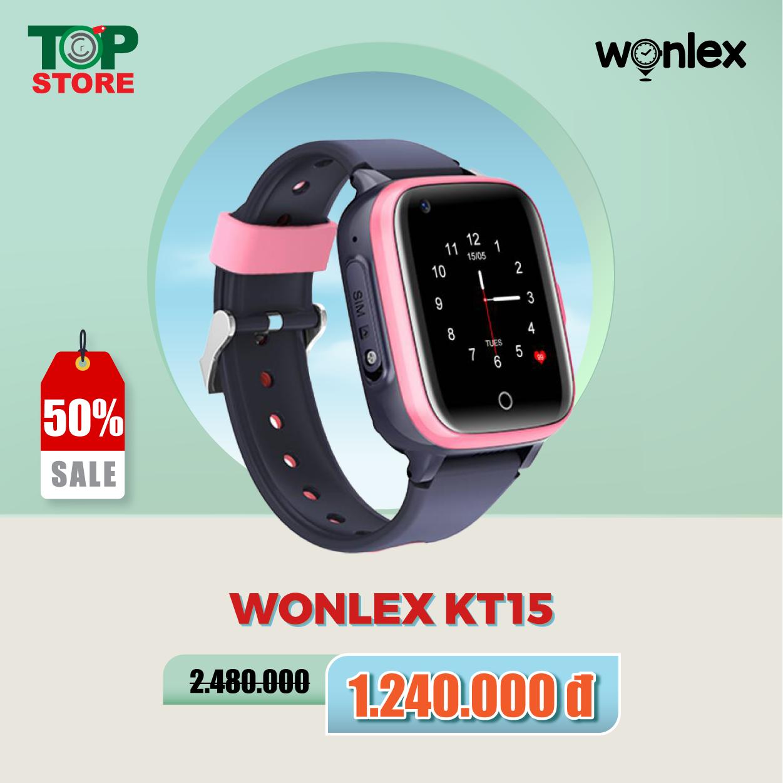 Đồng hồ trẻ em Wonlex KT15