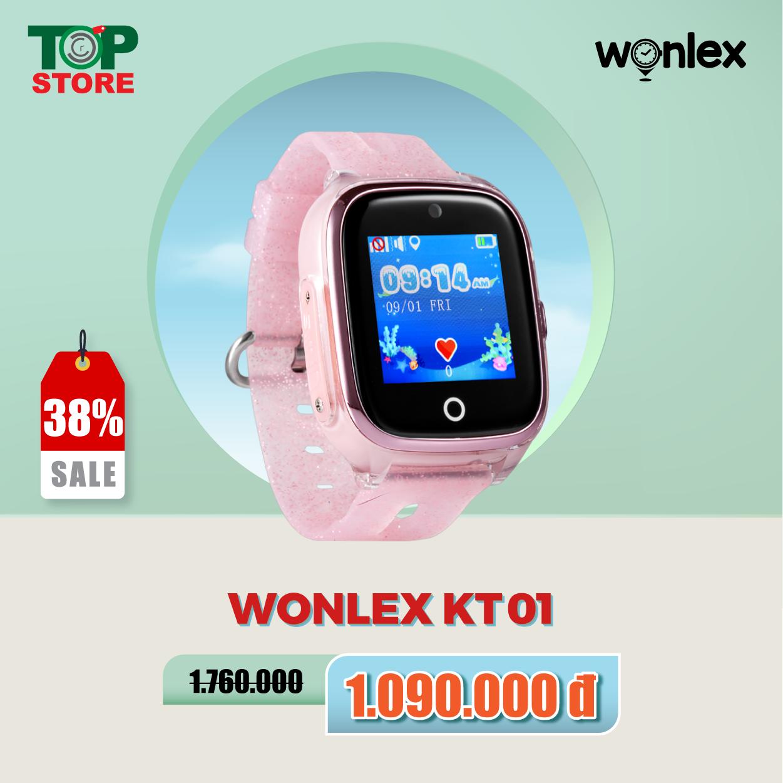 Đồng hồ định vị trẻ em Wonlex KT01