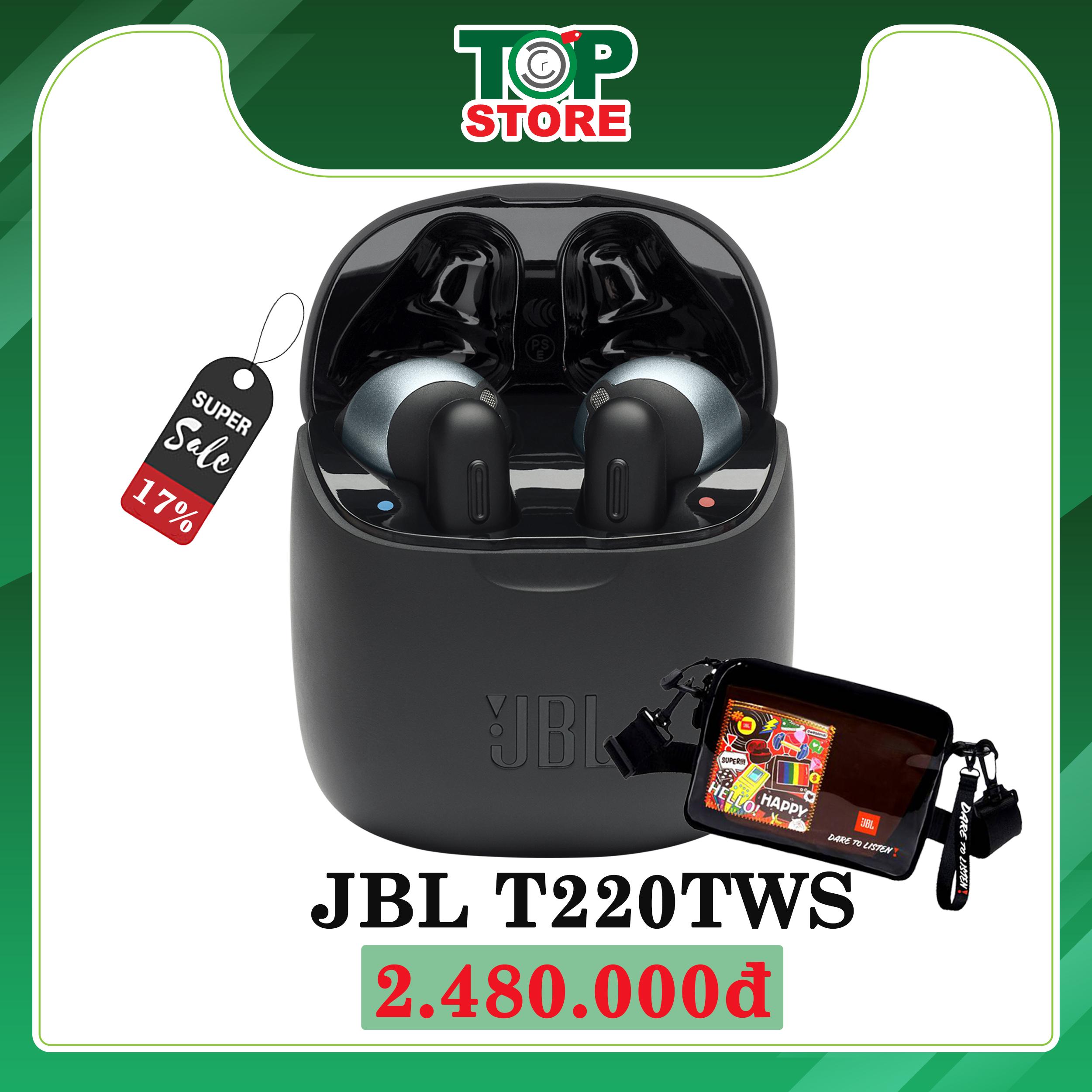 Tai nghe không dây JBL T220TWS