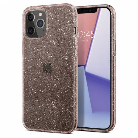 Ốp Lưng Spigen iPhone 12 Pro/ 12 (6.1 inch) Liquid Crystal Glitter