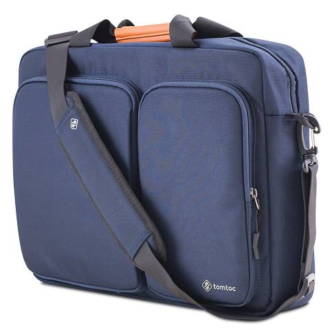 Túi Tomtoc (USA) Travel Briefcase For Ultrabook 15'' - Blue (A49-E01B)