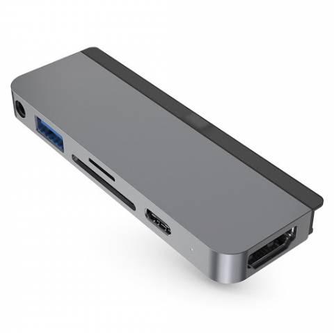 Cổng chuyển chuyên dụng HyperDrive USB-C Hub (HD319A) for iPad Pro 2018/ Macbook Pro/ Ultrabook USB-C/Tablet/Smartphone