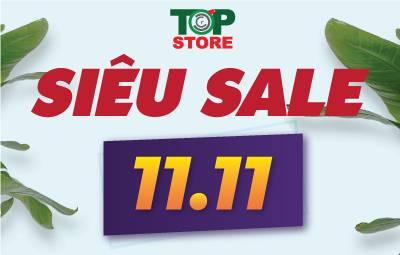 [11/11] Ngày hội FA - Săn deal phá giá chỉ có tại Topstore