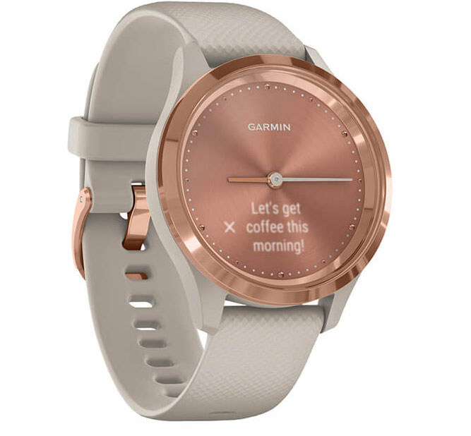 Đồng hồ Garmin Vivomove 3S (39mm) Silicone Band Chính Hãng