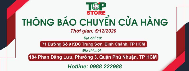 Thông báo chuyển cửa hàng