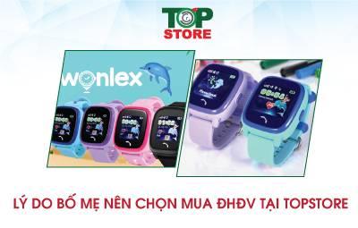 Lý do bố mẹ nên chọn mua đồng hồ định vị tại Topstore