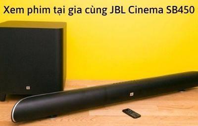 Loa xem phim âm thanh cực chất: JBL Cinema SB450