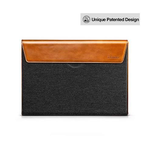 Túi Tomtoc (USA) Premium Leather For Macbook Pro 15″ - Gray (H15-E02Y)