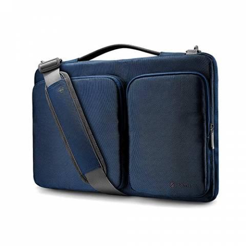 TÚI ĐEO TOMTOC (USA) 360* SHOULDER BAGS MACBOOK 13 - 15 inch A42