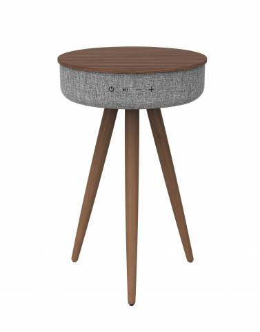 Loa Bluetooth Trio Z1 Walnut Grey