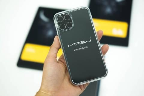 Ốp Lưng Mipow Kính Cường Lực Trong Suốt Iphone 12 / 12 Pro / 12 Promax (PS01/PS02/PS03)