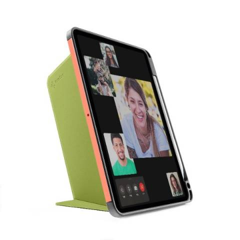 Bao Da TomToc (USA) Từ Tính Đa Góc Smart-Tri Hỗ Trợ Sạc Không Dây Apple Pencial For Ipad Pro 11-inch Avocado (B02-003T01)