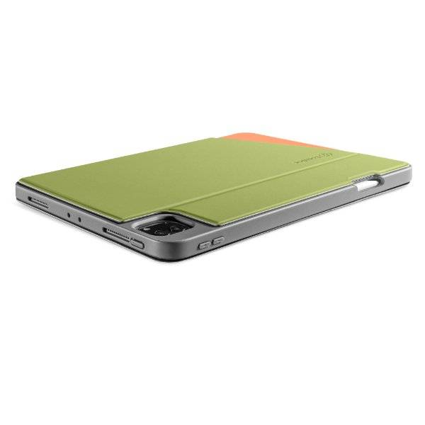 Bao Da TomToc (USA) Từ Tính Đa Góc Smart-Tri Hỗ Trợ Sạc Không Dây Apple Pencial For Ipad Pro 12.9Inch Avocada ( B02-004T01)