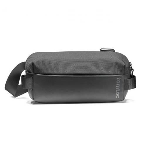 Túi Đeo Chéo TomToc (USA) Lightweight Codura Sling Bag Black ( H02-A04D)