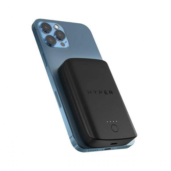 Sạc Dự Phòng Không Dây Từ Tính HyperJuice Magnetic Wireless 5000 Mah Iphone 12 Series & Smartphone (WL61TC)